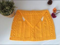 Kapüşonlu Bebek Yeleği Yapımı - YouTube Crochet Baby Hat Patterns, Crochet Shrug Pattern, Crochet Baby Hats, Knit Crochet, Baby Vest, Baby Boy, Baby Pullover, Knitting Videos, Baby Sweaters