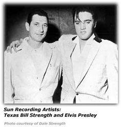Sun Recording Artists: Texas Bill Strength & Elvis Presley