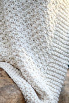 Easy Blanket Knitting Patterns, Loom Blanket, Free Baby Blanket Patterns, Easy Knit Baby Blanket, Afghan Patterns, Loom Patterns, Stitch Patterns, Free Knitting, Loom Knitting