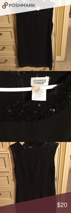 Little Black Dress Gently used Charming Charlie Dresses Midi