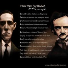An acrostic sonnet by H. Lovecraft dedicated to Edgar Allan Poe Edgar Allen Poe, Edgar Allan, Poe Quotes, Creepy Monster, Hp Lovecraft, Book Nerd, Poetry, Walking, Scene