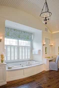 These Roman Shades are a great pop of color and pattern! See Blinds.com Premier Roman Shades for some similar patterns!