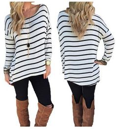 Round Neck Striped S