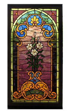 Stained Glass Window - Wooden Nickel Antiques, Cincinnati Ohio