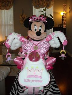 Looking for other project inspiration? Check out MINNIE MOUSE MOTORCYCLE DIAPER CAKE by member Anna Douglas.