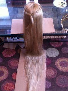 Sew Leslie: How to Make a Rapunzel Wig