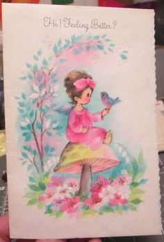 Current inc lucy co lucy rigg thank you greeting cards beach teddy vtg coronation glitter greeting card pink angel girl robin bird mushroom sparkle m4hsunfo