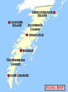 Map Of Virginia Coastal Towns.17 Best The Town Of Onancock On Coastal Virginia S Eastern Shore