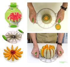 Melon Slicer...I NEED this!