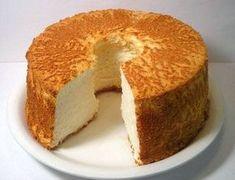 Pastel de ángel, ligero y libre de grasa - Cocina. Angel Cake, Angel Food Cake, Food Cakes, Cupcake Cakes, Cupcakes, Sweet Recipes, Cake Recipes, Dessert Recipes, Quinceanera Cakes
