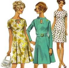 1960s Simplicity 8192 Mises Slimming Peekaboo Princess by mbchills