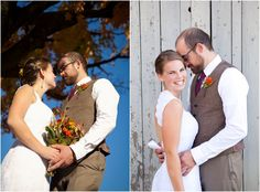 A Rustic Wedding In The Fall | Photography by SweetCheeks Photography (www.sweetcheekphotog.com)