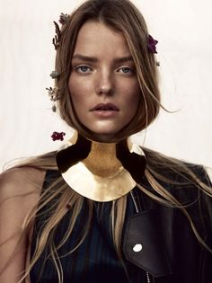 Roos Abels is a desert beauty for Vogue China February 2016 by Camilla Akrans [editorial]