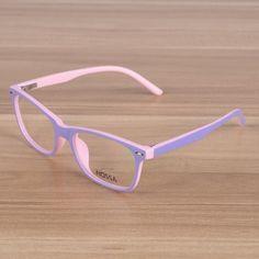 21618ba8b7e Kids Eyeglasses Children Flexible TR90 Plain Glasses Frame Optical  Prescription Eyewear Girlsmodlilj Boys
