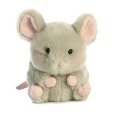 This mouse is extremely cute, tiny, cuddly, and rolly. With an adorable tiny face and cute little mouse tail, you'll want to keep this little guy as close as possible. Hamsters, Cute Stuffed Animals, Cute Animals, Mode Pastel, Cute Plush, Cute Icons, Plush Animals, Cute Love, Plushies