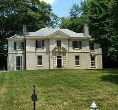 Before #NeelReid on W Wesley Henry B Tompkins House, now orange with blue door
