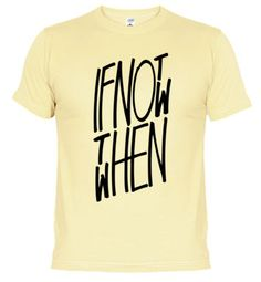 If not now then when. #golf #motivation #tshirt
