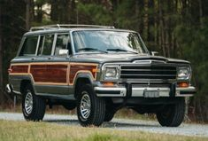 Bid for the chance to own a LS-Powered 1990 Jeep Grand Wagoneer at auction with Bring a Trailer, the home of the best vintage and classic cars online. Jeep Wagoneer, Morris Minor, Ford Galaxie, Vintage Travel Trailers, Trailer Hitch, Chevrolet Impala, Jeep Grand, Classic Cars Online, Honda Accord