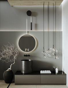 Baths Interior, Bathroom Interior, Home Interior Design, Interior Architecture, Villa Design, House Design, Architect Design House, Bathroom Design Luxury, 3d Max