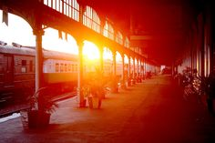Africas second oldest train station, Maputo Old Train Station, Maputo, Africa, Sunsets, Eyes, Afro, Sunset