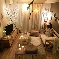 Living Room Decor Cozy, Cozy Room, Living Room Modern, Bedroom Decor, Home Room Design, Home Design Decor, Home Decor, Ideas Habitaciones, Interior Decorating