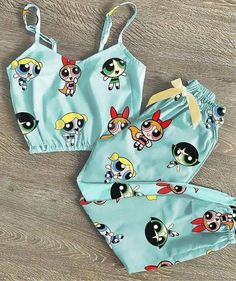 Girls Fashion Clothes, Teen Fashion Outfits, Swag Outfits, Cute Pajama Sets, Cute Pajamas, Cute Lazy Outfits, Trendy Outfits, Powerpuff Girls, Mode Turban