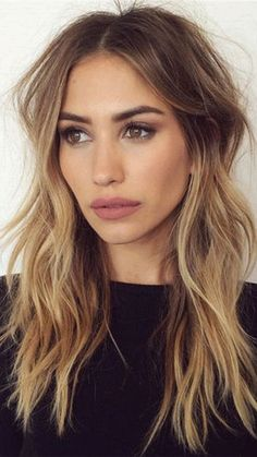 35 long layered haircuts you want to get now hair hair, bron Face Shape Hairstyles, Frontal Hairstyles, Cool Hairstyles, Hairstyles For Long Faces, Fashion Hairstyles, Hairstyles Haircuts, Blunt Cut Hairstyles, Long Straight Hairstyles, Center Part Hairstyles