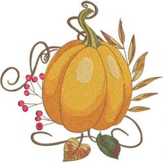 Season For Pumpkins - Kreations by Kara Custom Embroidery, Embroidery Thread, Machine Embroidery Designs, Free Design, Your Design, Kara, Thanksgiving Projects, History Page, Pumpkins