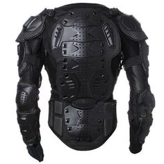 Motorcycle Full Body Armor Jacket Motocross Racing Spine Chest Protector Gear | eBay