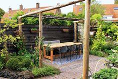 Diy Pergola, Pergola Kits, Bali Garden, Home And Garden, Outdoor Living Areas, Outdoor Spaces, Covered Pergola, Backyard, Patio
