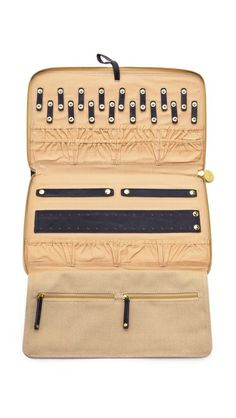 71346276e5a Gorjana Thompson Jewelry Case Jewelry Case, Quilted Leather, Welt Pocket,  Suitcase, Jewelry