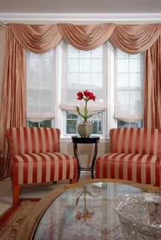 how to do curtains for three windows - Google Search More