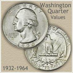 Uncirculated Silver Washington Quarter