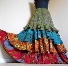 Erika's Chiquis: Twirl in a Patchwork Skirt