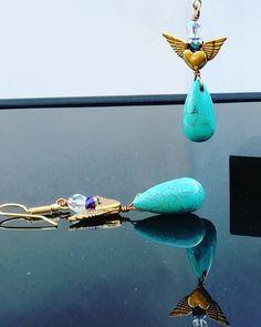 Handmade Jewelry, Drop Earrings, Fashion, Moda, Handmade Jewellery, Fashion Styles, Jewellery Making, Drop Earring, Diy Jewelry