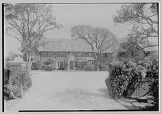 Old Long Island: 'Thornham', the Landon Ketchum Thorne estate designed by William F. Dominick c. 1928 in Bay Shore, with landscaping by Umberto Innocenti and Ferruccio Vitale. Thorne was president and partner of the banking firm of Bonbright & Co. among many other positions and was at one time the commissioner of the Long Island State Parks Commission. His granddaughter, Julia Thorne, was the first wife of Senator John Kerry. The house was demolished in 1976.