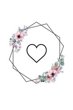 Já deixando claro que NÃO são de minha autoria! Instagram Blog, Autumn Instagram, Instagram Frame, Story Instagram, Instagram Design, Free Instagram, Instagram Story Template, Heart Wallpaper, Tumblr Wallpaper