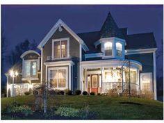 Domy w stylu wiktoriańskim
