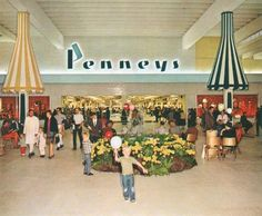 The publicity photo above, from 1964, depicts the inside entrance of the Penneys store at the Shepherd Mall in Oklahoma City, which opened in November of that year. Description from pleasantfamilyshopping.blogspot.ca. I searched for this on bing.com/images