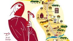 «De la cuna al sepulcro», ruta de Ávila a Alba #STJ500 #SantaTeresaAvila
