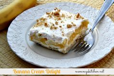 Mommy's Kitchen: Banana Cream Delight