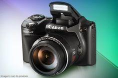 Compre já a sua Câmera Canon PowerShot SX510 com 12,1 Mpx e zoom óptico de 30x, a partir de 12x sem juros de R$ 66,66 + frete grátis
