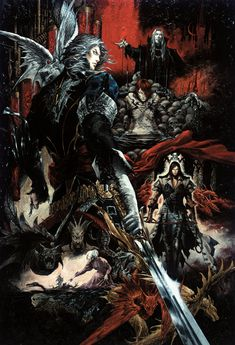 Promotional Art by Ayami Kojima (Castlevania: Curse of Darkness)