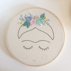 Ribbon Embroidery For Beginners Frida Kahlo Embroidery Embroidery Leaf, Embroidery Hearts, Types Of Embroidery, Learn Embroidery, Silk Ribbon Embroidery, Embroidery For Beginners, Hand Embroidery Patterns, Embroidery Techniques, Embroidery Stitches