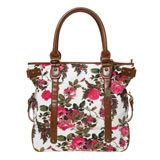 Patterned Tote Bag Tote Pattern, Pretty Flowers, London Fashion, Totes, Trends, Handbags, Tote Bag, Beautiful Flowers, Bags