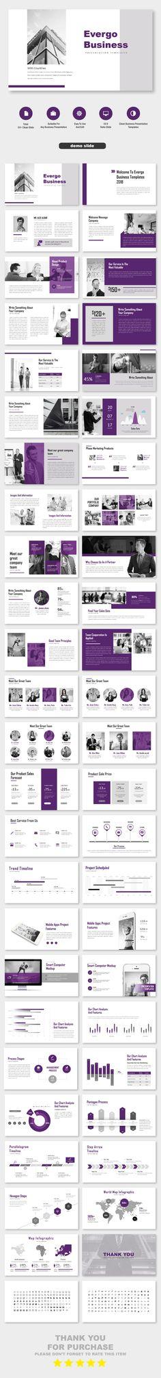 Evergo Business Proposal PowerPoint Templates Business Presentation by CreatorTemplate. Ppt Template Design, Creative Powerpoint Templates, Powerpoint Presentation Templates, Keynote Template, Web Design, Slide Design, Presentation Layout, Business Presentation, Pitch Deck