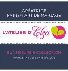 French Wedding stationery Designer • Faire part L'Atelier d'Elsa