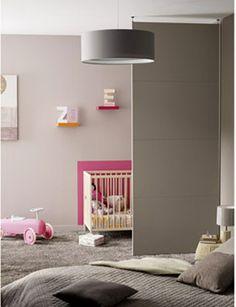 cloison amovible pour sparer espace chambre de bb dans la chambre des parents - Saparer Une Chambre En Deux Pour Enfant