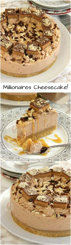 Millionaires Cheesecake! ❤️ Recipe available from my eBook!