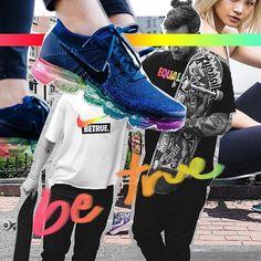 LOVE @nike lanza los tenis arcoiris para combatir la homofobia y nos urgen! #ElleMx  via ELLE MEXICO MAGAZINE OFFICIAL INSTAGRAM - Fashion Campaigns  Haute Couture  Advertising  Editorial Photography  Magazine Cover Designs  Supermodels  Runway Models